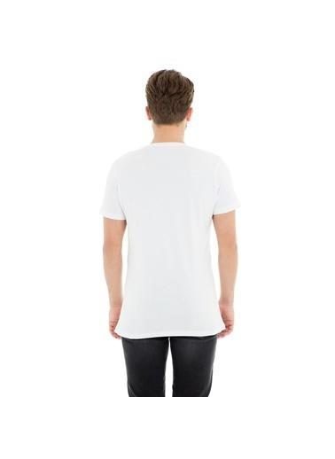 Five Pocket Tişört Beyaz
